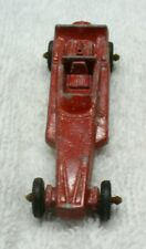 One Vintage TOOTSIETOY Diecast Red Wedge Dragster-USA