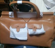 "RADLEY ""Hemlock"" Large 'Doctors' Style Bag In Tan Brown NEW"