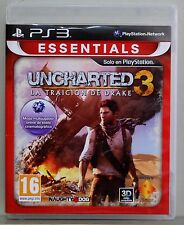 UNCHARTED 3 LA TRAICION DE DRAKE - ESSENTIALS - PLAYSTATION 3 - PAL ESPAÑA