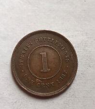 Straits Settlements Cent 1887