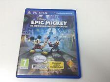 EPIC MICKEY EL RETORNO DE DOS HEROES . Pal España . Envio Certificado . Paypal