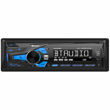 Dual 1 DIN LCD Digital Media Receiver with Bluetooth & 200 Watts Max. Power