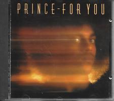PRINCE - For you CD Album 9TR Germany print 1987 (Warner Bros.) RARE!!