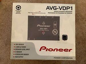 Pioneer AVG-VDP1 Real-Time Vehicle Dynamics Processor missing GPS Sensor/Manual