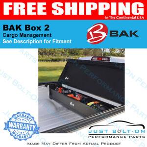 BAK Box 2 Trunk Organizer Fits 2005-2016 Nissan Frontier 6'  92501