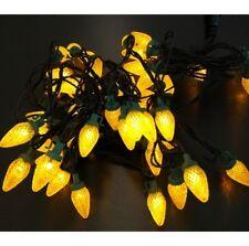 50er LED Motivo Luci a catena illuminazione per festa Natale pigne GIALLO LUCE