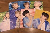 BTS SHIBUYA Tower Record Limited Photo Flyer Set of 7 JAPAN F/S