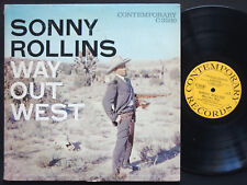 SONNY ROLLINS Way Out West LP CONTEMPORARY C3530 Orig US 1957 DG MONO Ray Brown