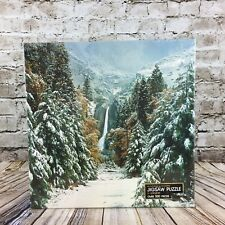 Springbok Winter In The Mountains Vintage 1979 Jigsaw 500 Piece Puzzle