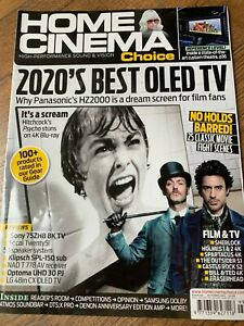 Home Cinema Choice October 2020 Hi-Fi Amps TVs, Tech Etc Magazine