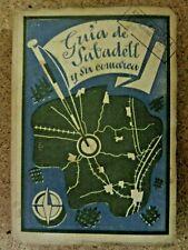 Guia de Sabadell y su Comarca.Dalmau 1939