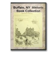Buffalo, NY New York History Culture Family Tree Genealogy 21 Book Set - D35