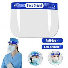 2X Anti-fog Empty Top Cap Full Face Splash proof Face Protective shield Hat US