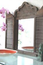 deko spiegel im landhaus stil aus holz f rs schlafzimmer g nstig kaufen ebay. Black Bedroom Furniture Sets. Home Design Ideas