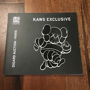 Kaws Digard Auction Catalog Companion What Party Toy Book Chum Print