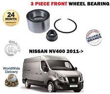 para NISSAN NV400 2.3 dCi BUS VAN 2011> NUEVO 1x Kit rodamientos LLANTA
