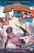 NEW SUPER MAN TPB VOL 2 COMING TO AMERICA REBIRTH REPS #7-12 MINT/UNREAD