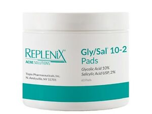 Replenix Acne Solutions Gly/Sal 10-2 Pads 60 Count