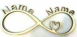 Love - Liebe Geschenke mit Namen-Sie Ihn Paar Jahrestag - Unendlichkeitszeichen