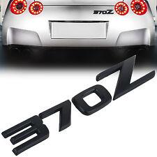 JDM New Metal 370Z Car Body Rear Trunk Emblem Badge Sticker Decal for 370z Black