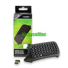 Bluetooth Mini Wireless Chatpad Message Keyboard for Xbox One Controller Black