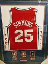 Ben Simmons Rookie Framed Signed Jersey Autograph