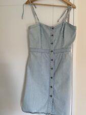 Jack Wills Denim Summer Dress - Size 12