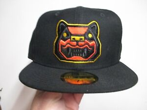 NEW HAMPSHIRE FISHER CATS MINOR LEAGUE NEW ERA (5950) FITTED HAT (7 1/2) NW $38