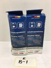 2 x Stück Original BSH Bosch Siemens Entkalkungstabletten Entkalker Tabs