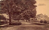 New York NY Postcard c1910 FRANKLINVILLE First Avenue Homes