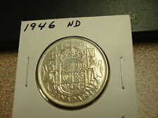 1946 - ND - 50 cent Canada - Canadian half dollar