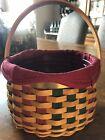 Longaberger Christmas Collection 2003 Caroling Basket
