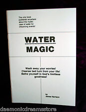 WATER MAGIC. James Harrison. Finbarr. Magick Occult Witchcraft Grimoire