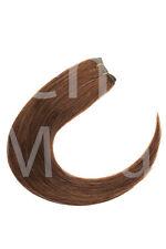 Weft Extensions Tresse 100%25 indisches Remy Echthaar Haarverlängerung 45 50 60cm