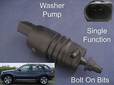 Front or Rear Windscreen Washer Pump BMW X5 2000 to 2006 3.0d V8 SE Sport E53