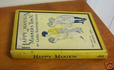 1931 Happy Manikin in Manners Town, Illustrated