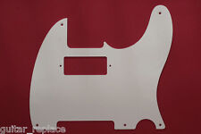 Golpeador Pickguard Telecaster Hot Rod 52 Blanco White 1 Capa 5 Agujeros One Ply
