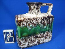 "Cool 70´s design Jopeko ""Fat Lava"" pottery Keramik vase  023 / 15 green glaze"