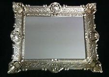Cadre d'image art nouveau argent ancien rectangulaire 56x46 baroque 30x40 Avec