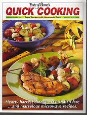 Taste of Home's Quick Cooking September October 1999 Harvest Stew/Cookie Sticks