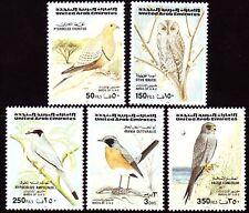 UAE 1996 ** Mi.516/20 Tiere Animals | Vögel Birds Oiseaux Owls
