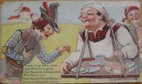 1918 Swift's Margarine/Dairy AD Postcard w/Simple Simon