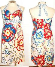 18 2X New Torrid Retro Pin Up Busty Floral Rockabilly Halter Party Cruise Dress