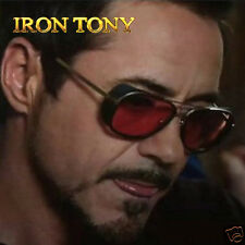 Iron Man 3 Matsuda RAY TONY Sunglasses Men Coating Sungalss Man Vintage Brand