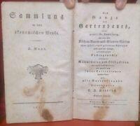 Dietrich, Christian Heinrich : Das Ganze des Gartenbaues 1803 selten