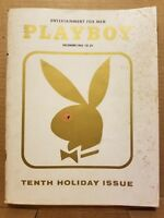 Playboy December 1963 * Good Condition  * Free Shipping USA