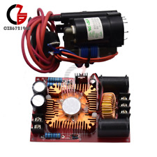 Zvs Tesla Coil Flyback Driver Power Supply Generator Board Ignition Coil Fan New