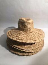 Capeline paille raffia a garnir pour  modiste Chapeau