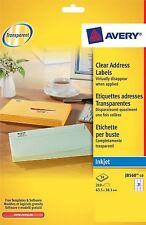 Avery J8560-10 Address Labels for Inkjet Printers (63.5 x 38.1 mm Labels 21 L...