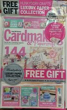 Cardmaking & Papercraft UK Feb Iss 166 Luxury Paper Collection FREE SHIPPING sb